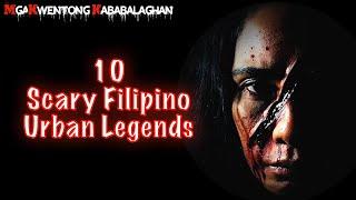 👿 10 SCARY FILIPINO URBAN LEGENDS (Aswang, Multo,Taong Ahas, Atbp.)