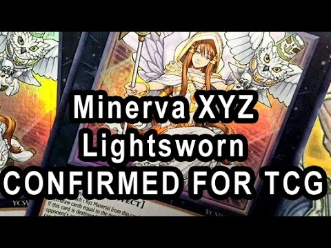 Minerva, the Exalted Lightsworn CONFIRMED FOR TCG... As  A Prize Card Thanks Ojama