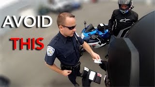 Easiest Ways To Avoid Getting Pulled Over on Your Motorcycle