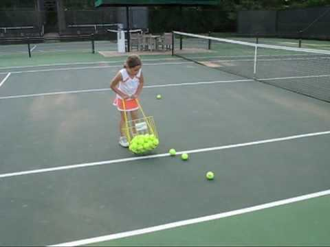 The colorful, rolling, stacking Hop-a-Razzi tennis ball ...