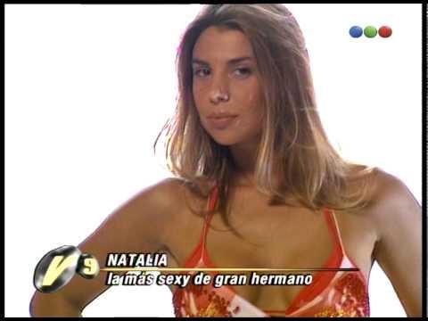 Natalia Fava, La Sexy De Gran Hermano - Versus video
