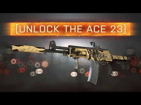 ► UNLOCK THE ACE 23 IN BF4!   Battlefield 4 Weapon Review