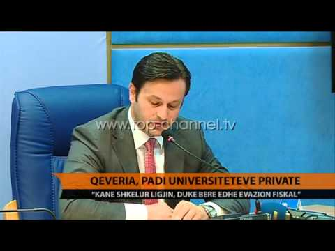 Qeveria, padi universiteteve private - Top Channel Albania - News - Lajme