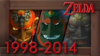 Evolution of Ganondorf Battles in Zelda Games [1998–2014]