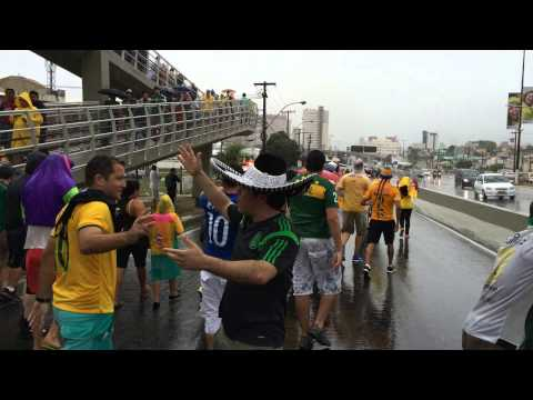 World Cup Brasil '14: Pre-Game Mexico vs Cameroon (Blooper)
