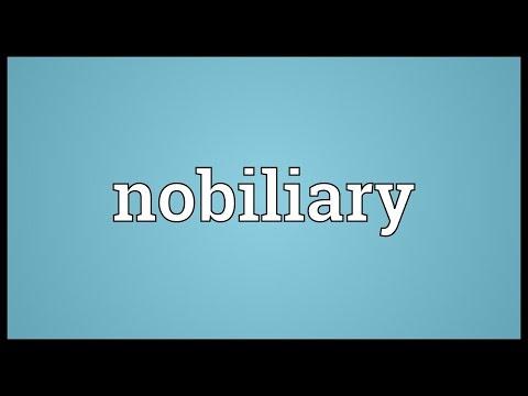 Header of nobiliary