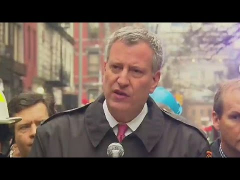 NYC mayor: 12 injured in East Village fire