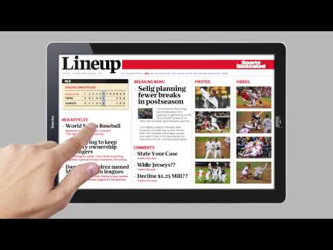 hqdefault A Demo of the Future: Sports Illustrated on a Tablet