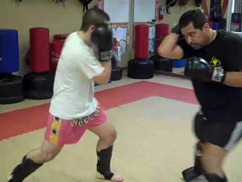 UMAA Muay Thai Partner Training - Glove Drills Image 1