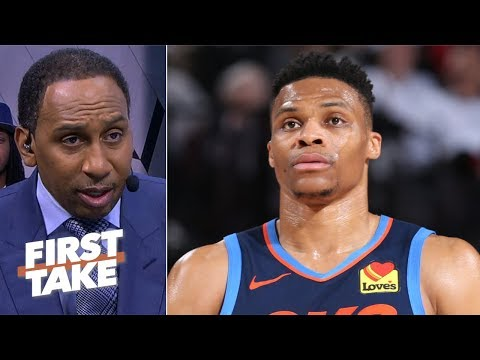 Russell Westbrook is upset that he 'doesn't get to control what we think' - Stephen A. | First Take #1