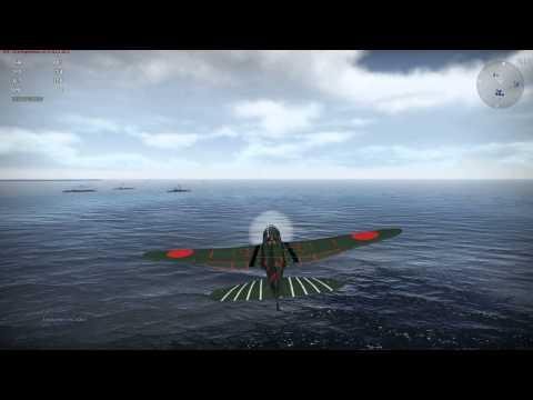 War Thunder. Учимся садиться на авианосец.