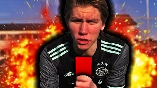 ELIMINATION FOTBALL CHALLENGES!! DIZZY PENALTIES, FRISPARK & STRAFFER!!