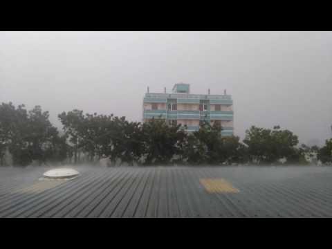 Heavy Rain At Gazipur.Dhaka