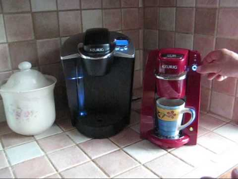 A demonstration of the Keurig B30 Mini K-Cup Coffee Maker