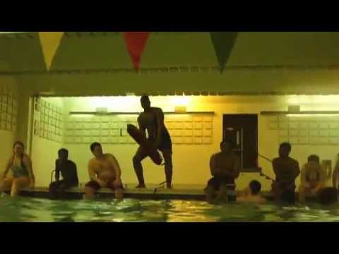 The Harlem shake Baltimore city college high school swim team