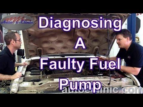 diagnose  bad fuel pump  pressure ford