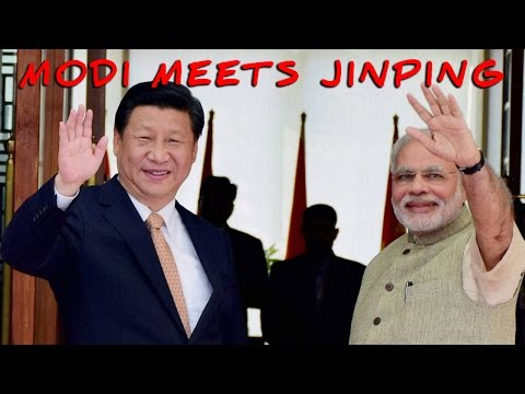 Chinese President Xi Jingping arrives in India on a 3-day visit