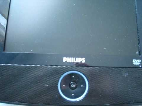 PHILIPS PET726 portable DVD player review
