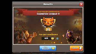 Warkings July CWL Champs 3 PROMOTED!!