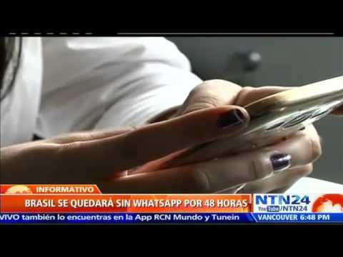 VIDEO: BRASIL SE QUEDARÁ SIN WHATSAPP DESDE ESTE JUEVES
