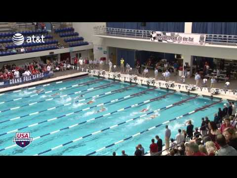Women&#039;s 100m Freestyle C Final - 2012 Indianapolis Grand Prix
