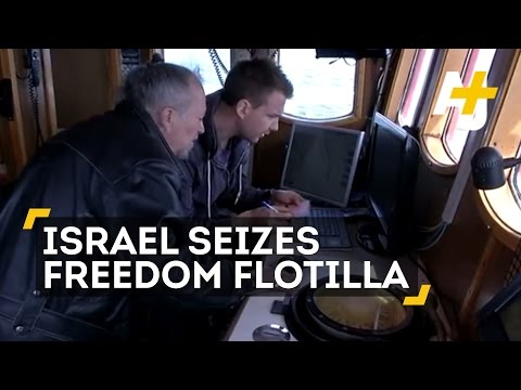 Israel Seizes Freedom Flotilla Boat Bound For Gaza
