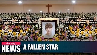 Download Lagu K-Pop superstar Jonghyun of SHINee dies; investigators look into possible depression Gratis STAFABAND