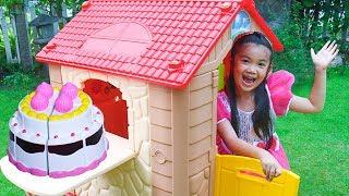 Hana Pretend Play with Kids House PLAYHOUSE Toy
