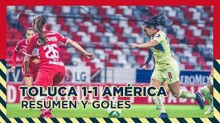 Resumen | Toluca Femenil 1 - 1 América Femenil | Club América