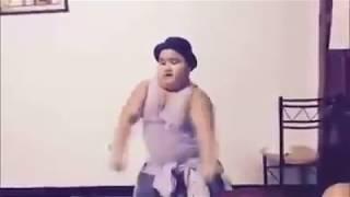 Lucu, Bocah Gemuk Nge-dance.