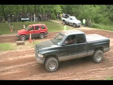 4x4 stock trucks drag racing at the good times 4x4 event june 2009 ...