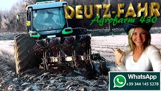 Deutz-Fahr Agrofarm 430 with large tires 800 [ITA/ENG]