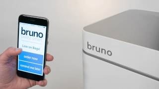 Bruno Smart Trashcan by Poubelle LLC