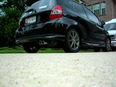 Honda Fit w/ SI Exhaust