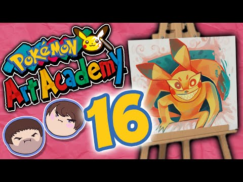 Pokemon Art Academy: Death and Pickles - PART 16 - Grumpcade