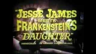 Jesse James Meets Frankenstein's Daughter &  Billy The Kid Vs Dracula trailer double feature
