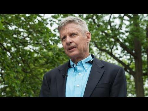 Libertarian Candidate Gary Johnson on Running Against Trump, Clinton