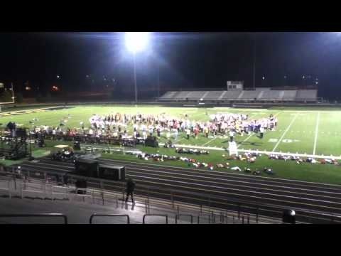 Avon Marching Black And Gold [Practice]
