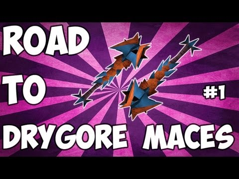 RuneScape - Road To Dual Drygore Maces From Scratch - Episode 1 - Commentary