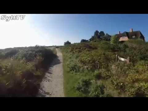 Vom Roten Kliff zur Braderuper Heide Kamerafahrt in Kampen auf Sylt