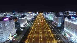 4-й микрорайон на видео в Ашхабаде: ASHGABAT 2017 BIRD'S - EYE VIEW (PART1) (автор: DJ SHAN)
