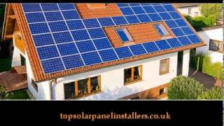 Solar panels installation by installers Wigan, St Helens, Newton
