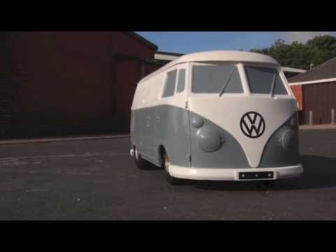 VW Split Screen Camper Tot Rod Test - 420cc 16hp Volkswagen Splitty