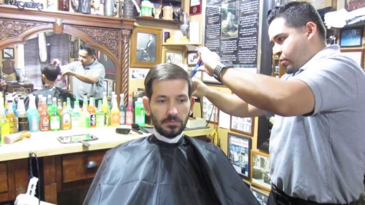 Barber And Shave Shoppe : Beard Update and Barber Shop Tour - YouTube