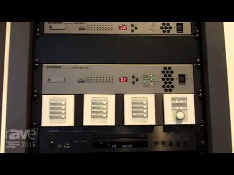 ISE 2015: Yamaha Exhibits MTX3 and MTX5 Matrices