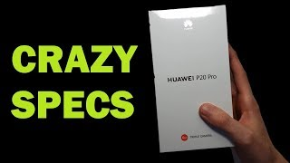 HUAWEI P20 PRO UNBOXING!!