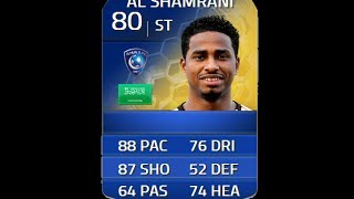 FIFA 14 TOTS AL SHAMRANI 80 Player Review & In Game Stats Ultimate Team