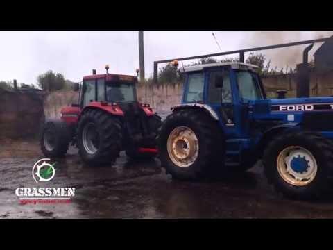 GRASSMEN - Two Legends & A Donkey - TW-35 vs Case