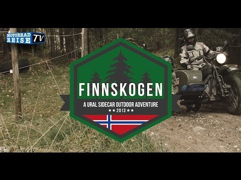 URAL Sidecar Outdoor Adventure -- Finnskogen, Norway