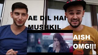 Ae Dil Hai Mushkil |Trailer| Reaction-Bollywood-Ranbir Kapoor-Aishwarya Rai-Anushka Sharma GERMAN